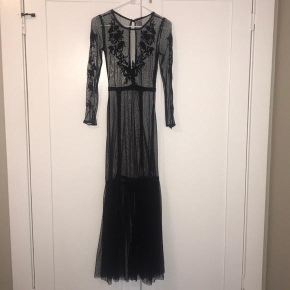 Ecote Dresses & Skirts - Statement slip dress